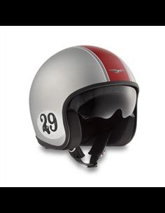 CASCO MOTO GUZZI RACING 29 GRIGIO-ROSSO