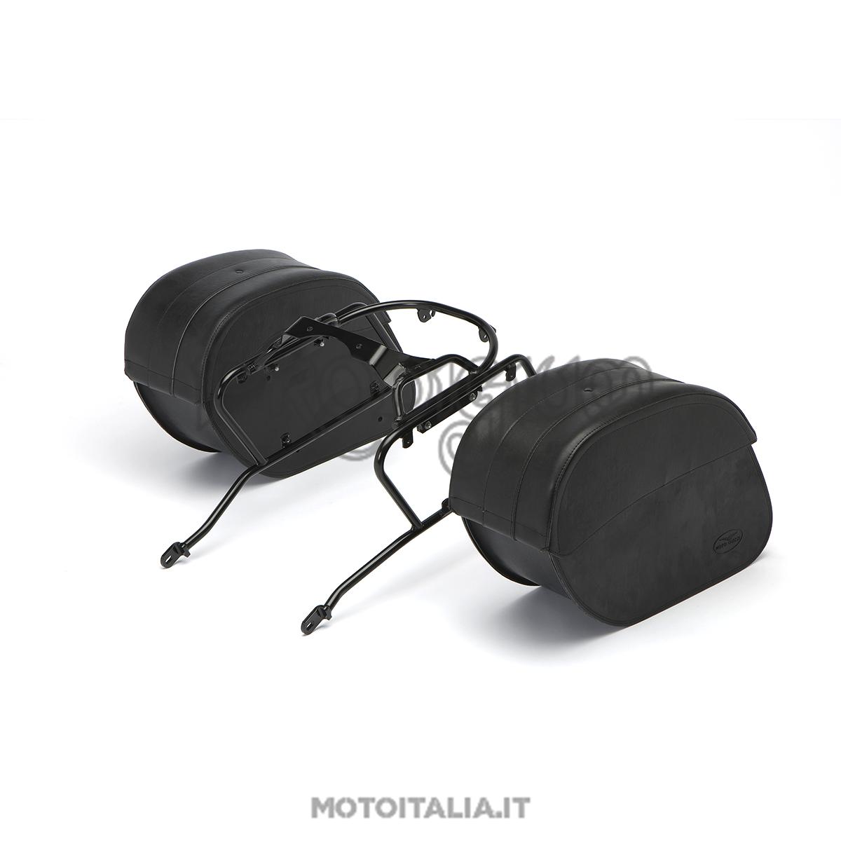dc3a33cd14 Download Image 1200 X 1200. coppia borse laterali moto custom universali  pelle harley davidson
