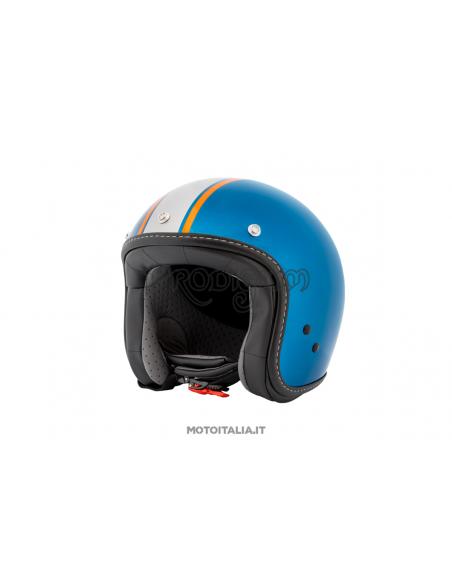CASCO V7 III SPECIAL BLUE MOTO GUZZI