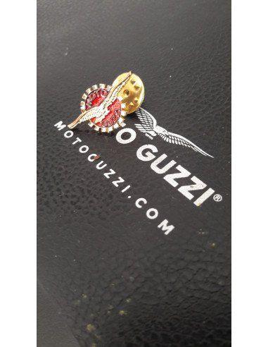 Pin logo Moto Guzzi con ghiera
