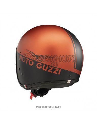 CASCO V9 SPORT NERO/ARANCIO MOTO GUZZI