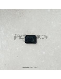 COVER POMPA FRENO ANTERIORE - PREMIUM IN ALLUMINIO NERO PER V7III / V9 MOTO GUZZI