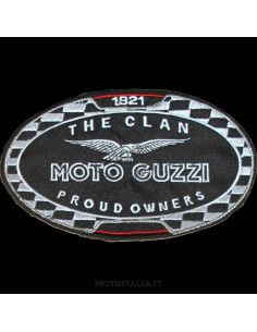 "PATCH ""THE CLAN"" MOTO GUZZI"
