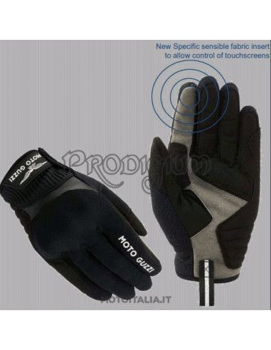 MOTO GUZZI SUMMER TOUCH GLOVES