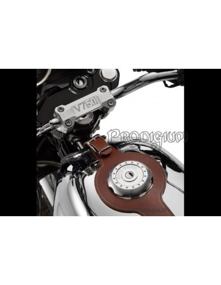 KIT CINGHIA SERBATOIO COMPLETO DI GANCIO per V7II PACK 2 Moto Guzzi *PRONTA CONSEGNA