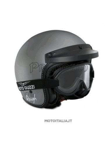 "CASCO ""ROUGH"" MATT GREY MOTO GUZZI"