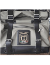 CANVAS GREY SIDE BAGS – 100° Anniversary Special Edition