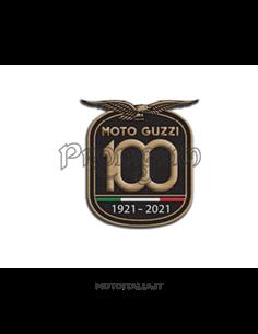 MG 100TH PATCH ORIGINALE MOTO GUZZI