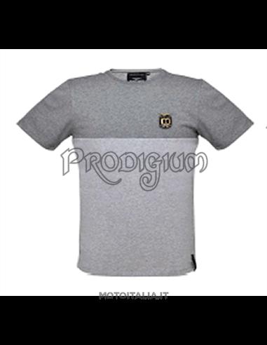 """Bi-color T-Shirts """"Centenario"""" col. GRIGIO MOTO GUZZI"""